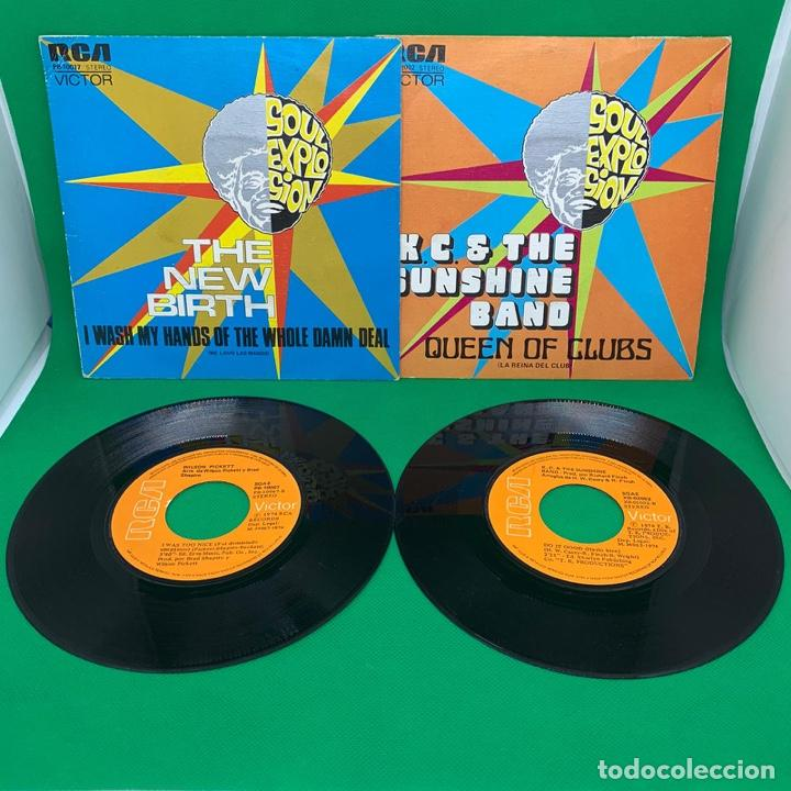 Discos de vinilo: SINGLE- LOTE DE SOUL EXPLOSION- LA REINA DEL CLUB - ME LAVO LAS MANOS VG+ - Foto 3 - 193938045