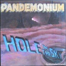 Discos de vinilo: PANDEMONIUM - HOLE IN THE SKY - LP NETHERLANDS 1985 - HEAVY METAL. Lote 193939086