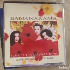 Discos de vinilo: BANANARAMA: CRUEL SUMMER 89. Lote 193939266