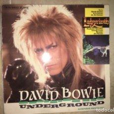 Discos de vinilo: DAVID BOWIE: UNDERGROUND. Lote 233754930