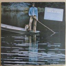 Discos de vinilo: JAMES TAYLOR. ONE MAN DOG.WARNER BROSS, K 46185. ENGLAND, 1972.. Lote 193943108