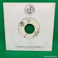 Discos de vinil: SINGLE BLANCO Y NEGRO FANCY - ANGEL EYES VG+. Lote 193943955