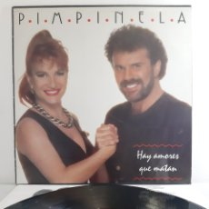 Discos de vinilo: PIMPINELA. HAY AMORES QUE MATAN. SPAIN. 1993. POLYDOR.. Lote 193946137