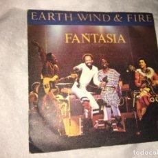 """Disques de vinyle: FANTASIA: HEART HOY WIND & FIRE 7"""". Lote 193950278"""