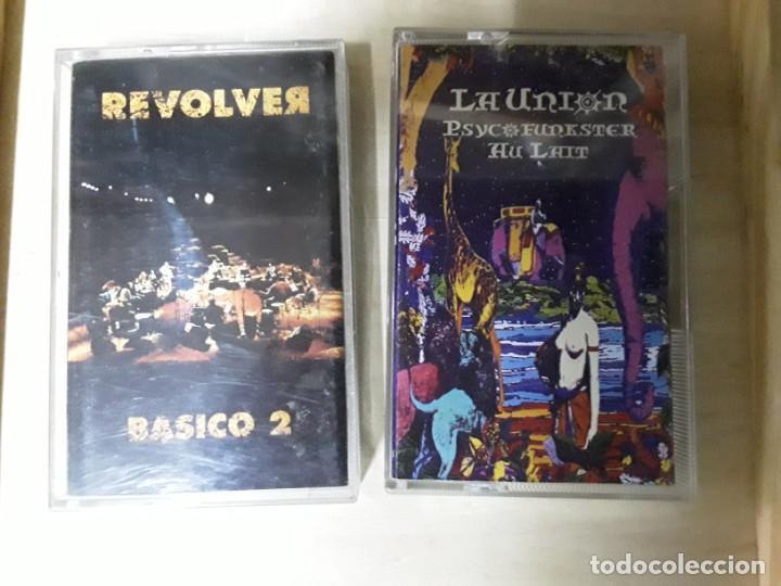 2 CINTAS DE CASETE DE REVÓLVER Y LA UNIÓN (Música - Discos de Vinilo - EPs - Grupos Españoles de los 70 y 80)