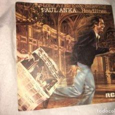 """Dischi in vinile: PAUL ANKA: AS LONG AS WE KEEP BELIEVING 7"""". Lote 193958021"""