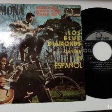 Discos de vinilo: EP-THE BLUE DIAMONDS-RAMONA-1961-SPAIN-. Lote 193963683