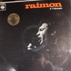 Discos de vinilo: RAIMON-RAIMON A L'OLIMPIA. Lote 193964182