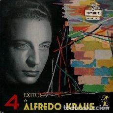 Discos de vinilo: ALFREDO KRAUS - 4 EXITOS - (DOÑA FRANCISQUITA, EL TRUST DE LOS TENORIOS + 2 TEMAS - EP ZAFIRO 1971. Lote 193964195