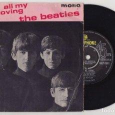 Discos de vinilo: THE BEATLES ALL MY LOVING 1963 1ST PRESS UK ORIGINAL EP GEP 8891 MONO. Lote 193965208
