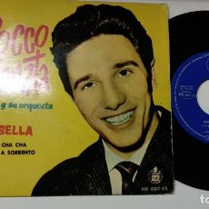 Discos de vinilo: EP-ROCCO GRANATA-LA BELLA-1960-SPAIN-. Lote 193966126