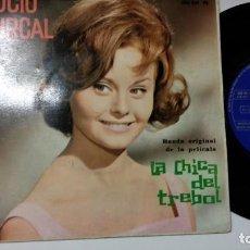 Discos de vinilo: EP-ROCIO DURCAL-LA CHICA DEL TREBOL-1961-SPAIN-. Lote 193966886
