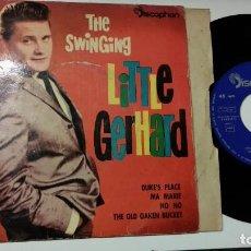 Discos de vinilo: EP-LITTLE GERHARD-DUKE´S PLACE-1960-SPAIN-. Lote 193967036