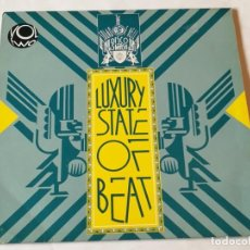 Discos de vinilo: VARIOUS - LUXURY STATE OF BEAT VOLUME 2 - 1990. Lote 193971810