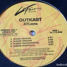 Discos de vinilo: OUTKAST - ATLIENS / WHEELZ OF STEEL - 1996. Lote 193972851