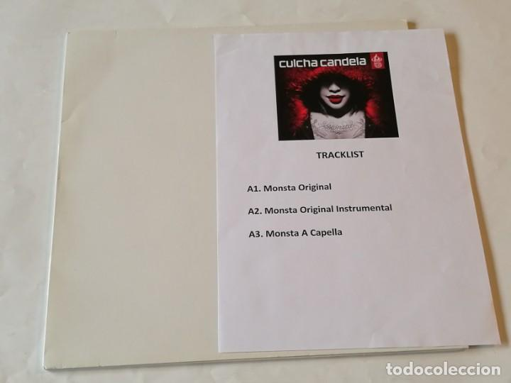 CULCHA CANDELA - MONSTA - 2009 (Música - Discos de Vinilo - Maxi Singles - Rap / Hip Hop)