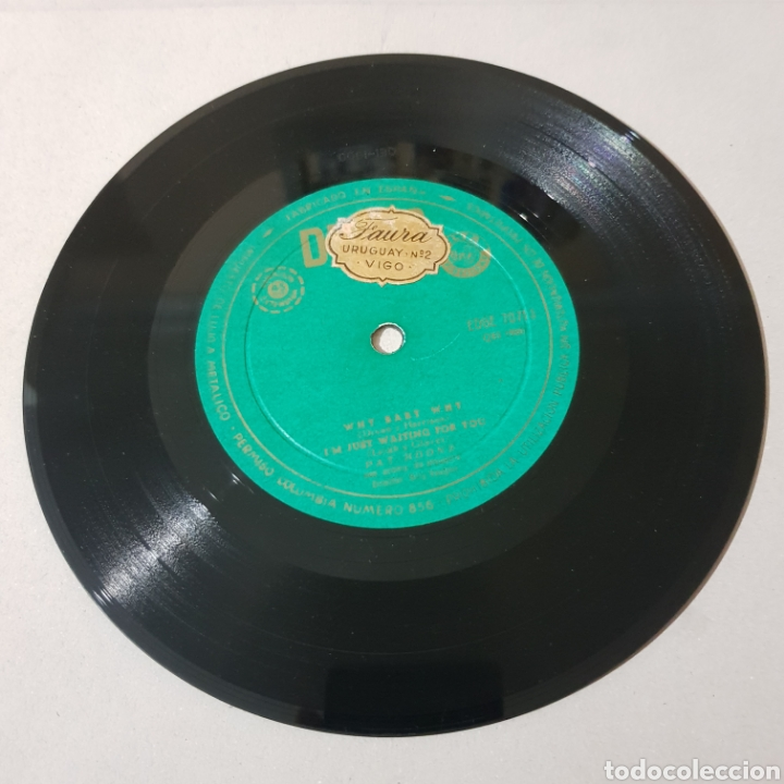 Discos de vinilo: PAT BOONE - ANASTASIA - DONT FORBID ME WHY BABY WHY - IM JUST WAITING FOR YOU - Foto 4 - 193976427