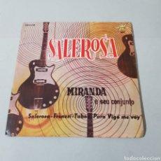 Discos de vinilo: MIRANDA E SEU CONJUNTO - SALEROSA - FRENESI - TABOO - PARA VIGO ME VOY - BRASIL. Lote 193977326