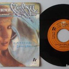 Discos de vinilo: CELI BEE & THE BUZZY BUNCH / MACHO / 7 INCH. Lote 193982331