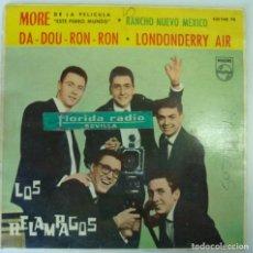 Discos de vinilo: LOS RELAMPAGOS // MORE+3 // SOLO FUNDA //. Lote 193986166