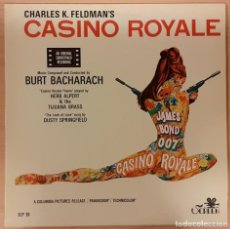 Disques de vinyle: CASINO ROYALE BURT BACHARACH RE-EDICIÓN 1986 PORTUGAL. Lote 193987216