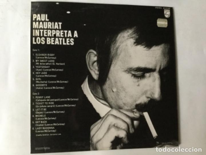 Discos de vinilo: Paul mauriat - beatles - Foto 2 - 193988236