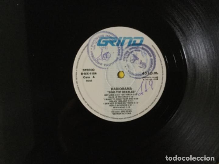 Discos de vinilo: Radiorama - sing the beatles - Foto 3 - 193988312