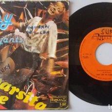 Discos de vinilo: JINNY AND THE FLAMBOYANTS / CUMPARSITA DANCE / 7 INCH. Lote 193988721