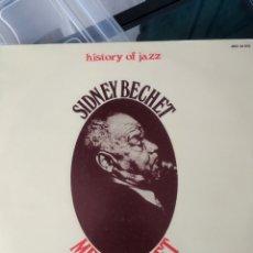 Discos de vinilo: SIDNEY BECHET - MEMORIAL SET VOL. 1 (JOKER - SM 3078, ITALY, 1971). Lote 193995041