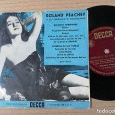 Discos de vinilo: ROLAND PEACHEY Y SU ORQUESTA HAWAIANA - MELODÍAS HAWAIANAS + SERENATA DE LAS TIERRAS. Lote 193995146