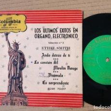 Discos de vinilo: ETHEL SMITH - SELEC.Nº3 - COLUMBIA AÑOS 50'S. Lote 193995373