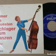 Discos de vinilo: MAGNIFICO SINGLE SCHLAGER .FOLGE. Lote 193995768