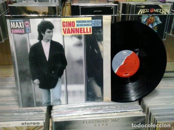 LMV - GINO VANNELLI. PERSONA NON GRATA. DISQUES DREYFUS 1987, REF. 885 971-1 (Música - Discos de Vinilo - Maxi Singles - Canción Francesa e Italiana)