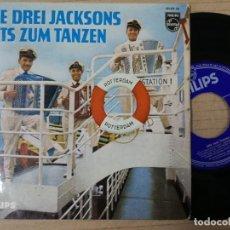 Discos de vinilo: HITS ZUM TANZEN.DIE DREI JACKSONS. Lote 193996853