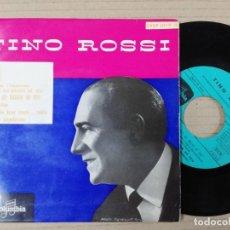 Discos de vinilo: TINO ROSSI SINGLES 19. Lote 193998287