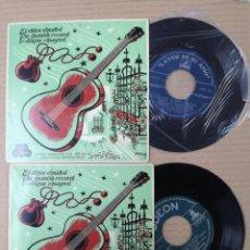 Discos de vinilo: DOS SINGLES .CONCHITA PIQUER.GRAN ORQUESTA F. DELTA.EL DISCO ESPAÑOL. Lote 193998648