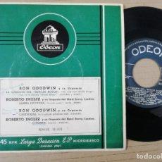 Discos de vinilo: RON GOODWIN Y SU ORQUESTA. ROBERTO INGLEZ Y SU ORQUESTA DEL HOTEL SAVOY. Lote 193999040