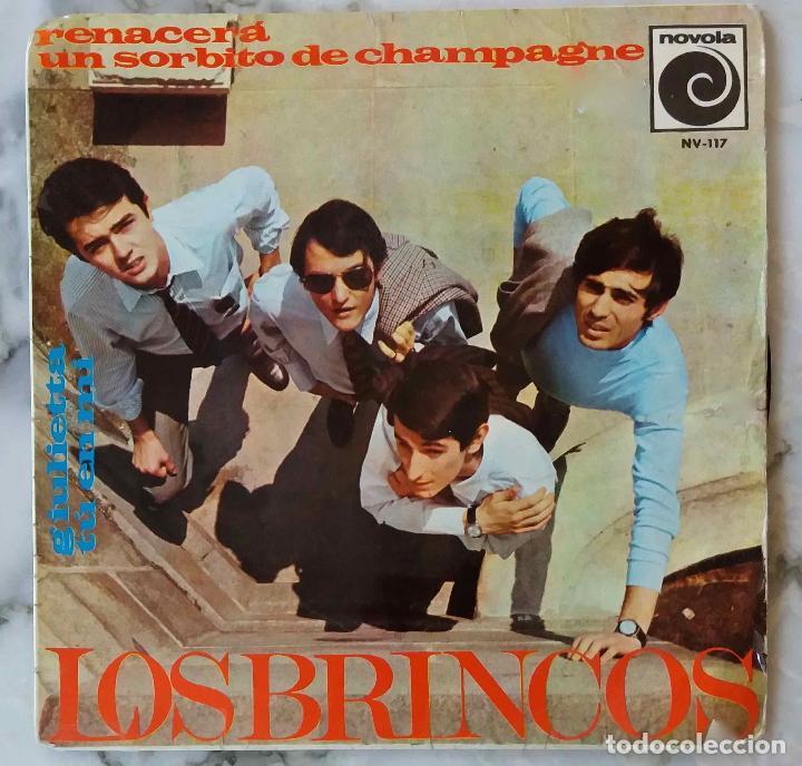 LOS BRINCOS. RENACERA. EP + 3 (Música - Discos de Vinilo - EPs - Grupos Españoles 50 y 60)