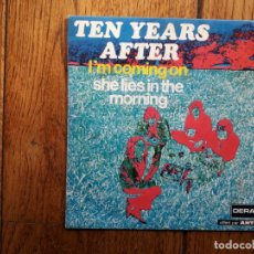 Discos de vinilo: TEN YEARS AFTER - I' M COMING ON + DIE LIES IN THE MORNING. Lote 194003133