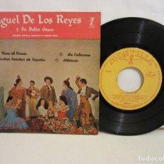 Discos de vinilo: MIGUEL DE LOS REYES Y SU BALLET GITANO - VIVA EL ROCIO +3 - EP - 1959 - SPAIN - VG/VG. Lote 194006528