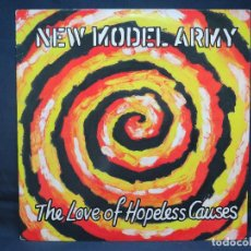 Discos de vinilo: NEW MODEL ARMY - THE LOVE HOPELESS CAUSES - LP. Lote 194007822