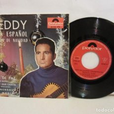Discos de vinilo: FREDDY QUINN - NOCHE DE PAZ / ES LA PAZ QUE CANTA +2 - EP 1964 - SPAIN - VG+/VG+. Lote 194009746