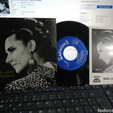 Dischi in vinile: MARIA JOSÉ RAMOS EP MILHA CULPA + 3 CON POSTAL PROMO Y FIRMADO POR ELLA FADO PORTUGAL. Lote 194010002