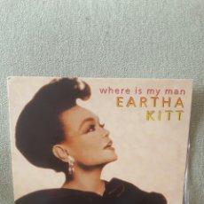 Discos de vinilo: EARTHA KITT WHERE IS MY MAN MAXI. Lote 194013681