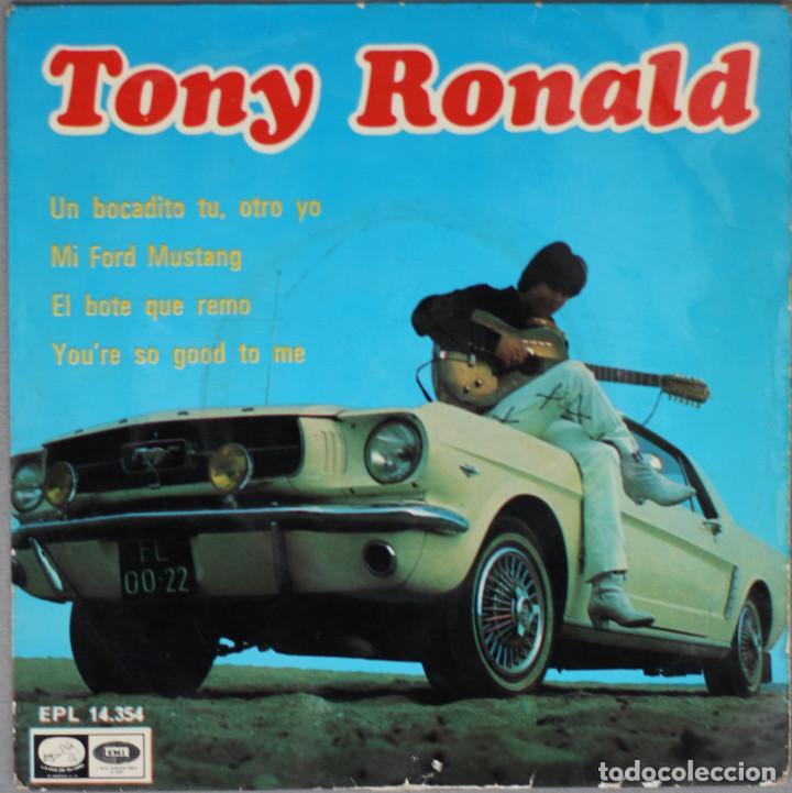 TONY RONALD//UN BOCADITO TU, OTRO YO+3//1967//EP//EMI (Música - Discos de Vinilo - EPs - Solistas Españoles de los 50 y 60)
