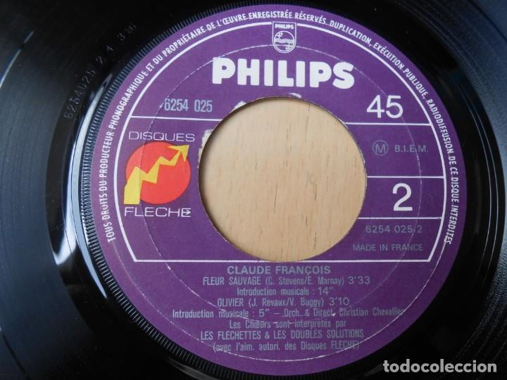 Discos de vinilo: CLAUDE FRANÇOIS, EP, SI DOUCE A MON SOUVENIR + 3, AÑO 19?? MADE IN FRANCE - Foto 4 - 194059861