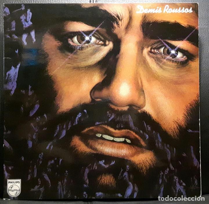 DEMIS ROUSSOS - LP - ESPAÑA - 1978 - PORTADA SE ABRE - PHILIPS - EXCELENTE - NO CORREOS (Música - Discos - LP Vinilo - Pop - Rock - Extranjero de los 70)