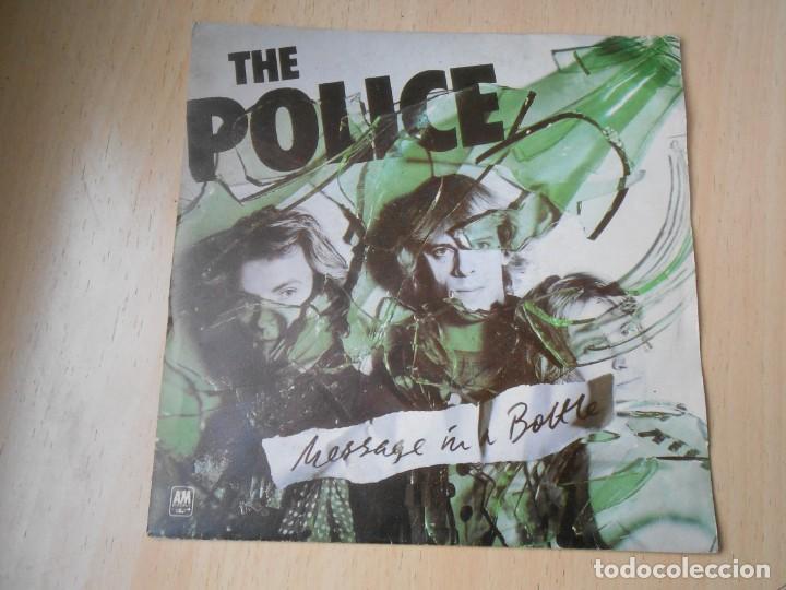 POLICE, THE, SG, MESSAGE IN A BOTTLE + 1, AÑO 1979, MADE IN FRANCE (Música - Discos - Singles Vinilo - Pop - Rock - Extranjero de los 70)