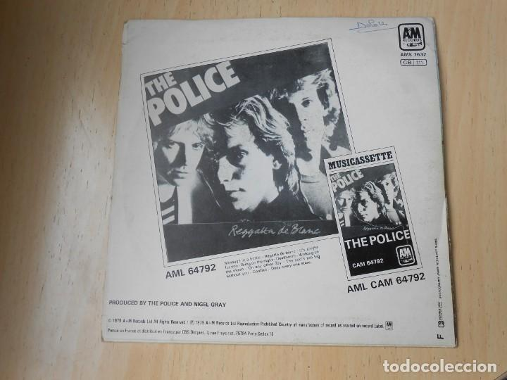 Discos de vinilo: POLICE, THE, SG, MESSAGE IN A BOTTLE + 1, AÑO 1979, MADE IN FRANCE - Foto 2 - 194061241
