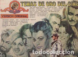 TEMAS DE ORO DEL CINE - B.S.O. - DOBLE LP SPAIN ED. 1979 (Música - Discos - LP Vinilo - Bandas Sonoras y Música de Actores )